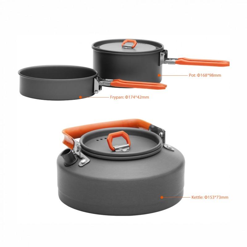 Набір туристичного посуду Fire Maple Feast 2 e70baff5ce503