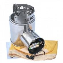 Печ с турбонагнетателем воздуха Airwood Light BM