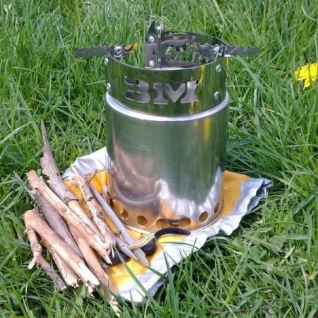 Твердопаливна туристична піч Airwood Solo BM