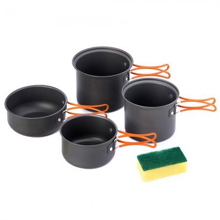 Набір посуду Naturehike NH15T401-G